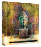 Buddha gallery-wrapped canvas Stretched Canvas Print by Elena Ray