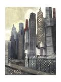 Urban Landscape II Premium Giclee Print by Norman Wyatt Jr.
