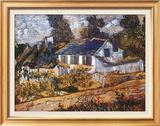 House at Auvers Prints by Vincent van Gogh