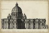St. Peter's, Rome Plakater af G. de Rossi