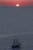 Sunset in Santorini Greece 2 Fotografie-Druck von Art Wolfe