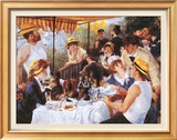 The Luncheon of the Boating Party, c.1881 Print by Pierre-Auguste Renoir