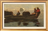 Three Boys in a Dory Prints by Winslow Homer