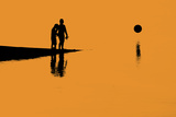 Evening Silhouettes 2 Photographic Print by Adrian Campfield