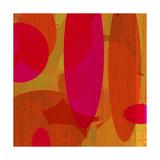 Warm Ellipses II Giclée-Premiumdruck von Ricki Mountain