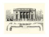 Palais Du Petit Trianon Plakater af E. Obermayer