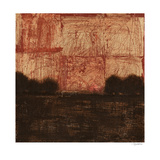 Weathered Landscape II Print by Norman Wyatt Jr.