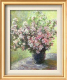 Vase of Flowers (Mini) Poster by Claude Monet