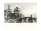 Western Gate, Peking Art by T. Allom