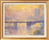 Charing Cross Bridge, c.1905 Poster by Claude Monet