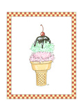 Ice Cream Parlor I Premium Giclee Print by Virginia A. Roper