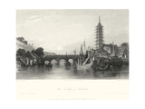 The Bridge of Nanking Prints by T. Allom