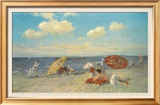 At The Seaside Posters by William Merritt Chase