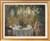 Table in the Sun Print by Henri Le Sidaner
