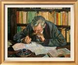 Portrait of Emile Prints by Théo van Rysselberg