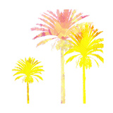 Sunny Palm I Prints by Ricki Mountain