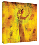 Visualize and Manifest gallery-wrapped canvas Stretched Canvas Print by Elena Ray