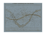 Celestial Planisphere Prints by W.G. Evans