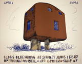 English Plug Collectable Print by Claes Oldenburg