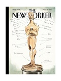 Ready for His Closeup - The New Yorker Cover, March 3, 2014 Regular Giclee Print by Barry Blitt
