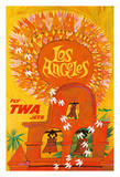 Los Angeles, California - Trans World Airlines Fly TWA - Swallows Return to San Juan Capistrano Giclee Print