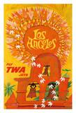 Los Angeles, California - Trans World Airlines Fly TWA - Swallows Return to San Juan Capistrano Giclee Print