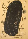 Derriere le Miroir, no. 151-152, pg 17 Collectable Print by Joan Miró
