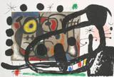 Derriere le Miroir, no. 151-152 Collectable Print by Joan Miró
