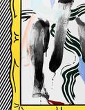 Brushstrokes Collectable Print by Roy Lichtenstein