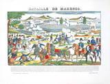Bataille De La Marengo Láminas coleccionables por Pellerin