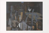 Atelier VI Collectable Print by Georges Braque