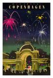 Wonderful Copenhagen - Tivoli Gardens Amusement Park, Denmark Giclee Print