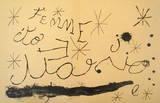 Derriere le Miroir, no. 151-152, pg 18,19 Collectable Print by Joan Miró