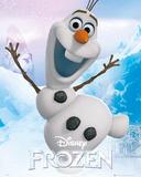 Frozen - Olaf Plakater