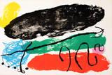 Derriere le Miroir Collectable Print by Joan Miró