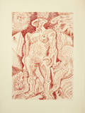 Le Septieme Chant Collectable Print by André Masson