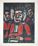 The Three Judges Collectable Print by Georges Rouault