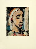 Benigne Collectable Print by Georges Rouault