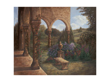 Rose Cloister Prints by Judy Mastrangelo