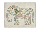 Laurel's Elephant II Poster by Chariklia Zarris