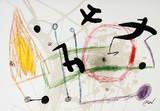 Maravillas 1057 Collectable Print by Joan Miró
