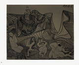Bacchanale au Hibou Collectable Print by Pablo Picasso
