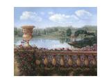 Balustrade Premium Giclee Print by Judy Mastrangelo