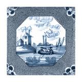 Delft Tile IV Art by  Vision Studio
