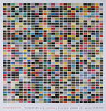 1025 Colors (1025 Farben) Collectable Print by Gerhard Richter
