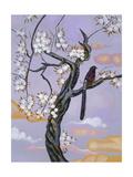 Asian Bird Illustration II Prints by Judy Mastrangelo