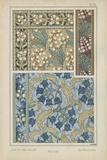 Nouveau Floral Design V Posters by  Vision Studio