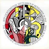 Guggenheim Museum Serigraph by Roy Lichtenstein