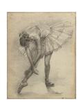 Antique Ballerina Study II Reproduction procédé giclée par Ethan Harper