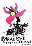 Paradise Serigraph by Niki Saint Phalle